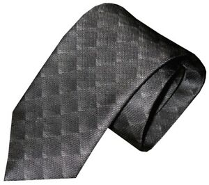 NWT-BRIONI-FADING-GRAY-TONES-OPTICAL-OP-ART-BOX-PATTERN-100-SILK-NECK-TIE