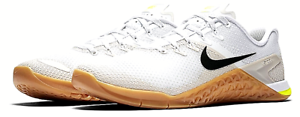 Nuevo  Nike Metcon 4 blancoo hueso de Luz Goma de masCoche capacitación cruzada-para hombre