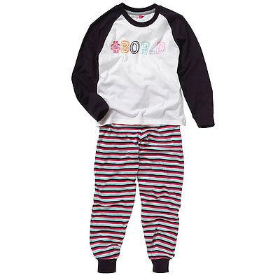 Cozy n Dozy Older Girls I Love Sleep Heart Print Shortie Pyjamas