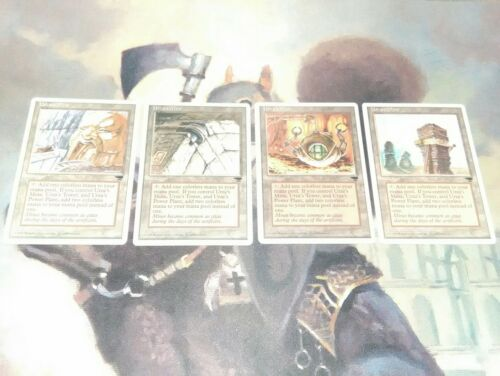MTG Urza/'s Tron Lands x12  NM Chronicles     ¥216Cards¥