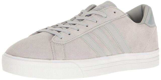 innovative design 0bb9d 9c5fc adidas Cloudfoam Super Daily Suede Court Shoes Men s Size 10 Grey ...