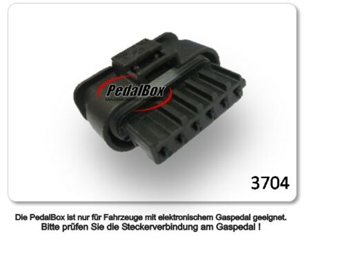 DTE pedalbox 3 S Pour Smart Fortwo 451 52 kW 01 2007-1.0 451.331 451.380 Tuning.