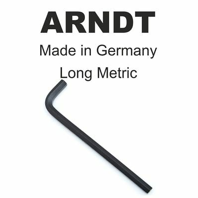 Allen Key Hex Key 8mm 8 mm LONG Arm Alen Allan Alan Key Keys ARNDT 911-L