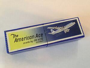 Adroit Vintage Harmonica The American Ace Fr Hotz Allemagne Paris 1900-clé C-afficher Le Titre D'origine Avec Les éQuipements Et Les Techniques Les Plus Modernes