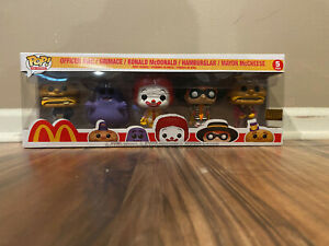 NOT MINT * Funko Pop Ad Icons 5-Pack McDonald's Exclusive Limited Edition 5PK