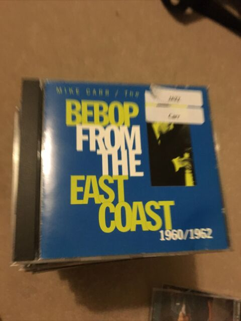 Mike carr bebop from the east coast rare jazz Cd library copy