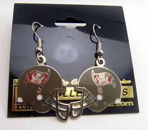 1608856e Details about Tampa Bay Buccaneers Silver Helmet Charm Earrings - NFL  Licensed Jewelry Item