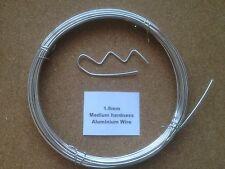 1.6mm X 10m 16 pulgadas Swg Alambre de aluminio Floristry Artesanía Joyería Hacer Bonsai