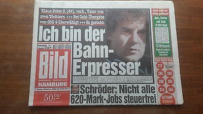 2019 Neuestes Design Orginal Bild Zeitung Vom 24. Dezember 1998 Geeignet FüR MäNner, Frauen Und Kinder
