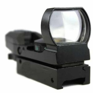 Red Dot Sight Reflex Green Holographic Scope Tactical Rifle Mount 20mm Rails TRA