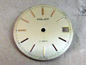 Poljot POLIOT Dial 17 jewels for Russian Vintage mechanical Wristwatch