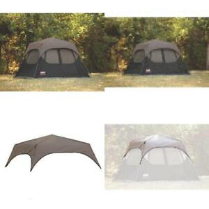 Image is loading 10-039-x9-039-Sleep-C&ing-Outdoor-Coleman-  sc 1 st  eBay & 10u0027x9u0027 Sleep Camping Outdoor Coleman 6-Person Instant Tent Rainfly ...