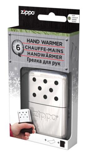 ZIPPO Handwärmer 6 Stunden kleiner Taschenofen NEU+OVP chrome Taschenwärmer