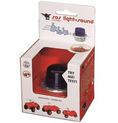 Sirene Blaulicht Neu Reines Und Mildes Aroma Der GüNstigste Preis Big 56475 Big Bobby Car Sos Light & Sound