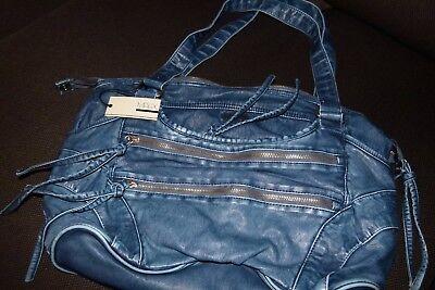 Damentasche, Handtasche in blau von MATIX