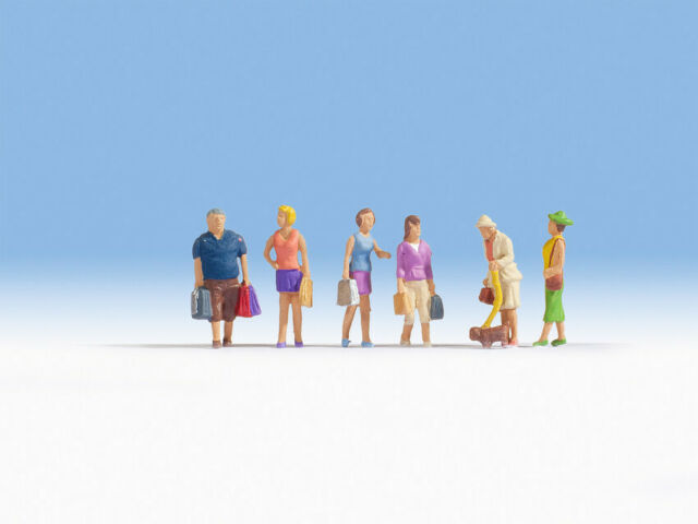 HO Scale people - 15518 - Shopping