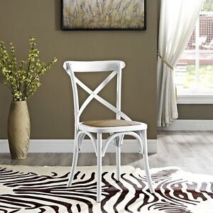 Lexmod Gear Dining Side Chair White Eei 1541 Whi Dining