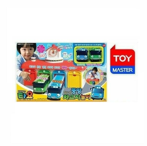 Main Garage play set  The Little Bus TAYO Talking & Sound Toy animation_mg