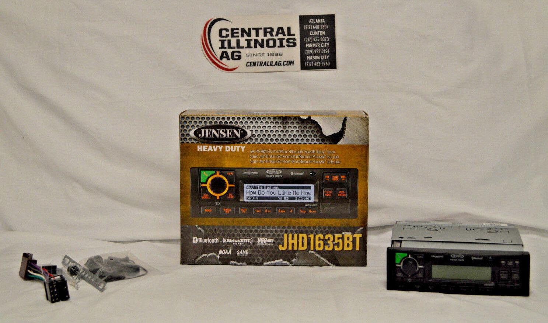 Jensen AmfmwbSiriusXMBluetooth zaejhd 1635 bthd Central Il AG
