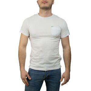 Sun68-T-Shirt-Uomo-colori-vari-e-taglie-varie-NUOVA-COLLEZIONE-S-S-19