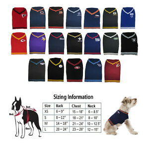 53514103 Details about NFL Licensed Football Dog Pet Sweater - CHOOSE YOUR TEAM AND  SIZE - XS - L