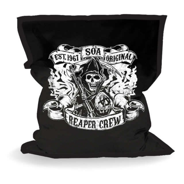Official Licensed Sons Of Anarchy LARGE Bean Bag Fathers Day Gift Man Cave