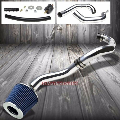 Cold Air Intake Induction//Blue Cotton Cone Filter For Toyota 07-09 Camry 2.4L