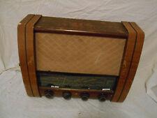 Tubo de la Válvula de radio entubado de Madera Vintage GEC G.E.C Red Modelo BC5842 BC 5842