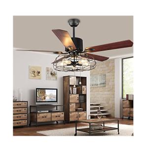 Best Deal Industrial 52 Quot Ceiling Fan Semi Flush Mount