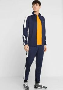 c12f9fc85 PUMA Men s Energy Blaster Peacoat Blue Fashion Sports Jacket Pants ...