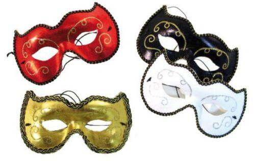 Farben Karneval Augenmaske Venezianische Maske Domino untersch