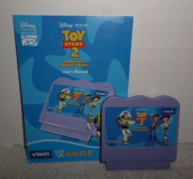 Vtech v. Smile: toy story 2 operation: rescue woody | user manual.