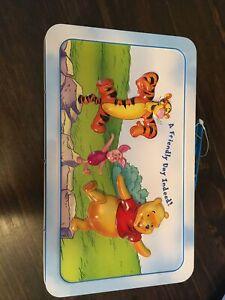 Vintage Winnie The Pooh Metal Lunch Box