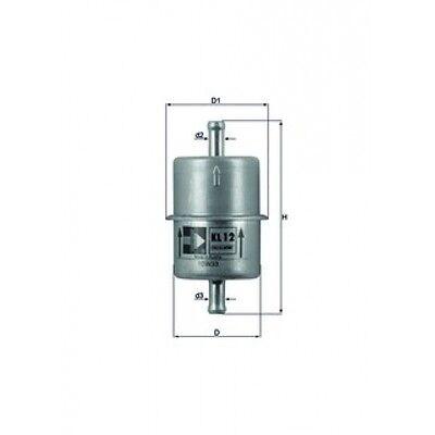 MAHLE ORIGINAL Kraftstofffilter 77008584 KL 12