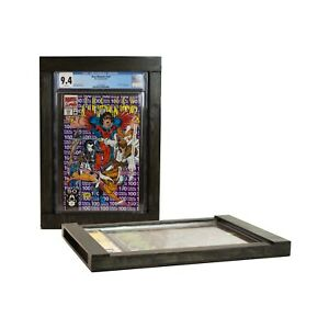 CGC Comic Book Frame, Black, Fits CGC Modern, Silver and Golden Age slabs!