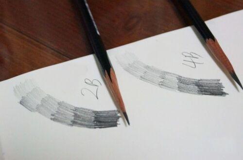ANB Design Sketch Art Drawing ART /& BRUSH EAGLE 2B 3Pencils Set Made in Korea
