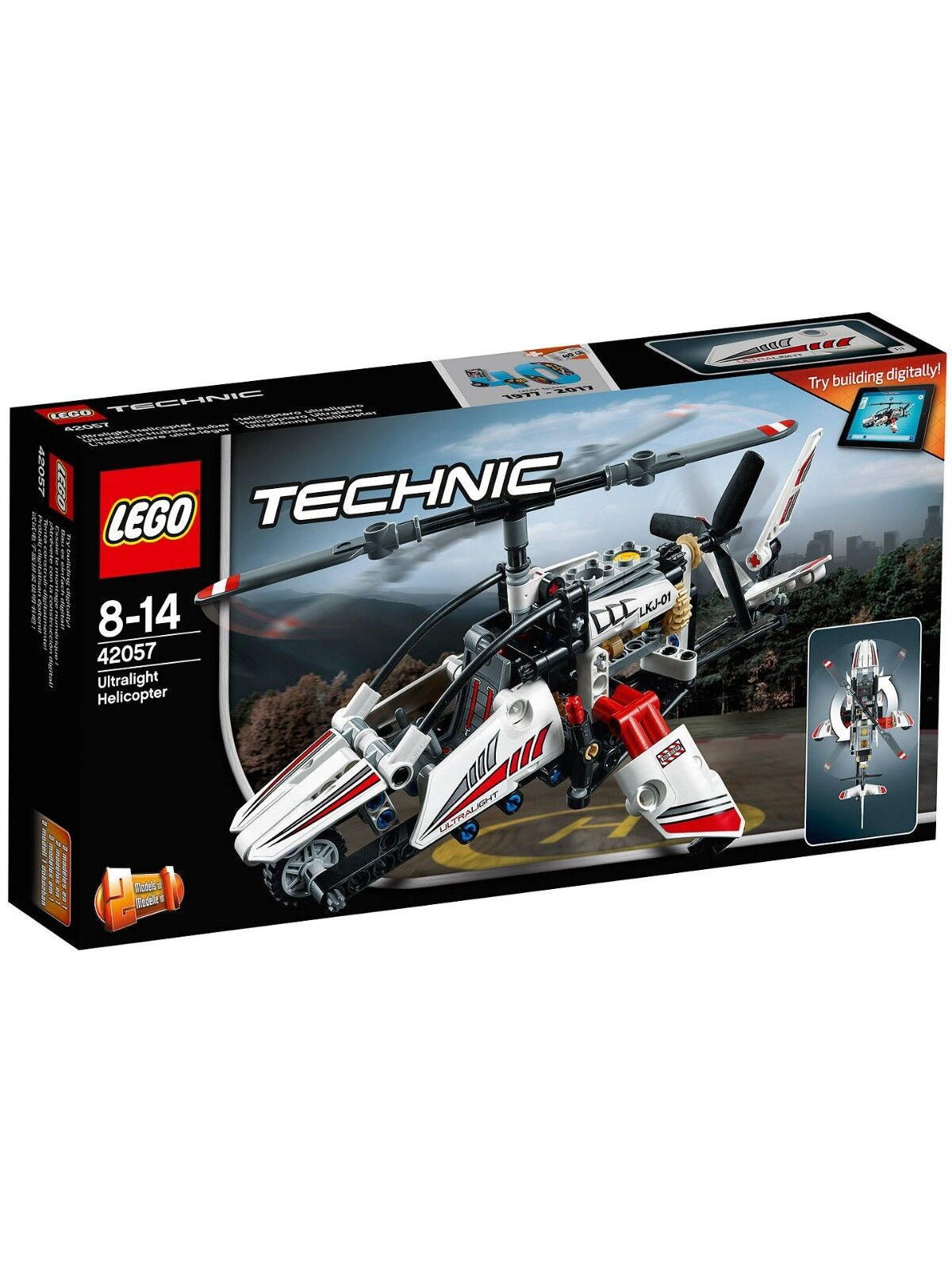 LEGO Technic 42057 UltraLight Helicopter NEW SEALED Worldwide Shipping