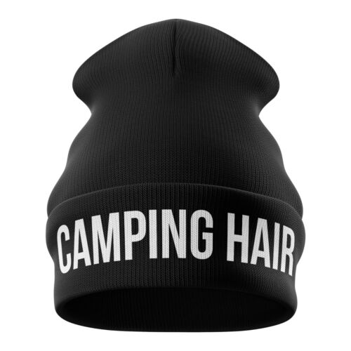 Camping Beanie Hats Funny Camping Gift Camp Tent Campervan Festival Hat 6 Design