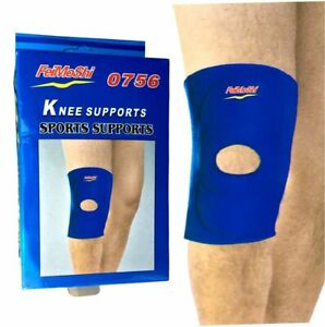 Knee-Straps-Weight-Lifting-Bandage-Guard-Pads-Wraps-Pair-Sleeves-Gym-Sports-One