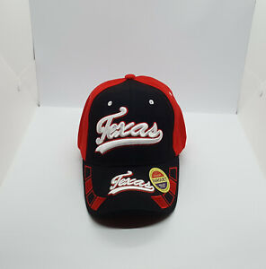 Texas 3D Embroidered Baseball Caps