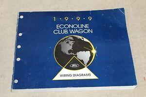 1999 Ford E-Series WIRING DIAGRAM Manual econoline E150 ...