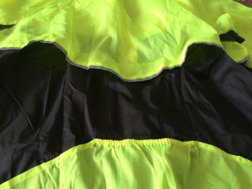 High Viz Jacket Lightweight Cycle Running Walking Adult Large /& X-Large