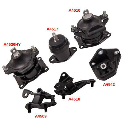 New Transmission and Engine Mount Package fits 2003-2007 Honda Accord 2.4L
