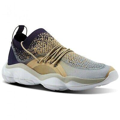 Mens Shoes CM9662 White//SLR Yllw//Blk//SLR Gl Reebok DMX Fusion AFF