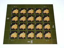 Tiffany Lamp- Stamp Pane -U.S. Collectable 1FullSheet /20  Stamps x 1 cent   NEW