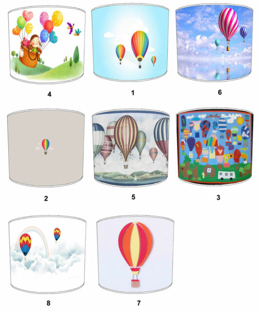 Abat-jour Qui Convient Ballon À Air Chaud Couettes & Coussins Ballon À Air Chaud