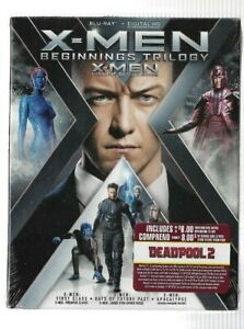 Brand-New-Sealed-BLU-RAY-X-MEN-Beginnings-Trilogy-Also-In-French