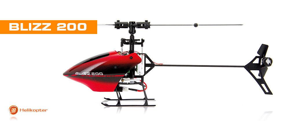 RC Helicopter Blizz 200 , Baugleich MT3D u.  WL V922 Hubschrauber, 6CH, 2,4 GHz