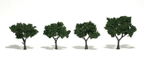 Woodland Scenics Trees Deciduous Med Green Sm