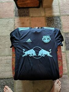 Details about Adidas MLS New York Red Bulls 2019 Parley Jersey (SMALL) NWT